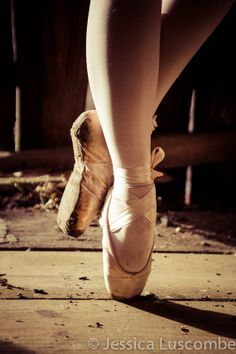 Dance Photography Ballet Slippers Print 8x10 by JessicaLuscombe, $20.00