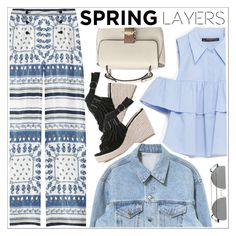 """Wardrobe Basics: Spring Jacket"" by teoecar ❤ liked on Polyvore featuring Philosophy di Alberta Ferretti and Zara"