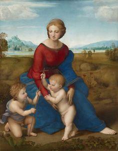 Raffaello Sanzio,Madonna del Belvedere, 1506, Vienna.