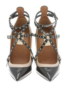 Valentino Black - Poudre HIGH-HEELED SHOES. Shop on Italist.com
