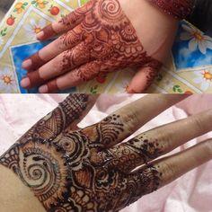 My new henna design..
