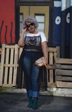 Sheer Plus Size Dress - Gisella Francisca