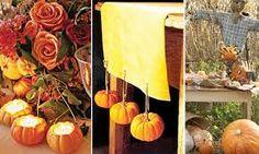 Image result for diy fall wedding decor