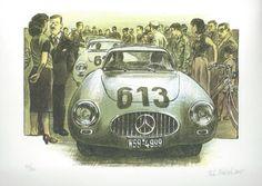 P.Ptáček - Mercedes 300 SL