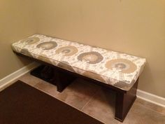 Mudroom Bench Seat Cushion Cover 67.5 x by CustomSewingbyCathy