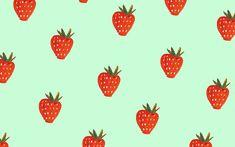 Strawberry Wallpaper   Dress Your Tech