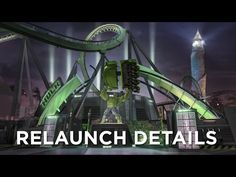 The only things you'll recognize when The Incredible Hulk Coaster at Universal's Islands of Adventure re-opens in late summer 2016 are the world-famous twists and turns of the ride track. Prepare to Hulk Out! Request your vacation quote today > http://www.emailmeform.com/builder/form/U3oA9Fid7e2094NXBhee