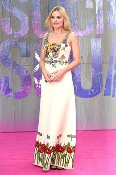 Suicide Squad's Margot Robbie looked amazing in Gucci