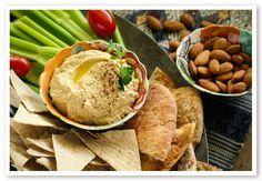 Low Carb Almond Hummus