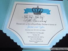 Petit Prince Baby Shower Invitation invitations de par TinyInvites