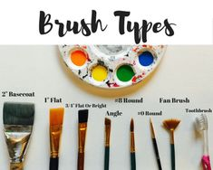 Acrylic Painting Brush Techniques - Step By Step Painting