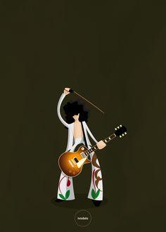 ivodelo.com - graphic design / illustration Jimmy page