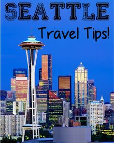 30 Fun Things to See and Do in Seattle! ~ Living just across the water from Seattle, and I still need this!
