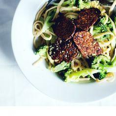 HOW TO : david's easy vegan tempeh bacon | oil-free, gluten-free | jenny mustard