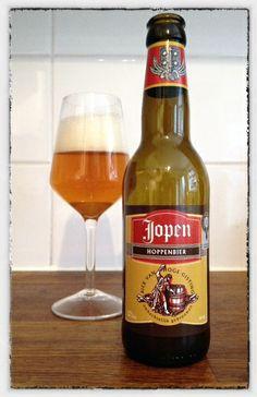 Jopen Hoppenbier - Brouwerij Jopen, Haarlem, Nederland. Beoordeling GGOB: 6,3. Eigen beoordeling: 6,5
