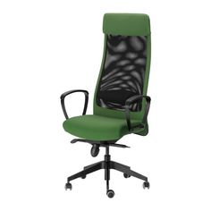 MARKUS Swivel chair - Sonnebo green - IKEA