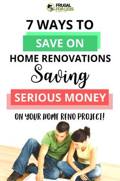7 ways to save money on home renovations. Learn how to budget and learn some money saving tips and tricks when it comes up upgrading your house. Save Money On Groceries, Ways To Save Money, Money Tips, Money Saving Tips, Earn Money, Single Mom Jobs, Best Coupon Apps, Frugal Living Tips, Work From Home Jobs