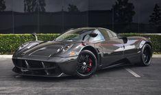Pagani has pegged the Huayra coupe run to just 100 units, and… Maserati, Bugatti, Pagani Huayra, Black Wheels, Hot Wheels, Super Sport, Super Cars, Alfa Romeo, Mercedes Amg