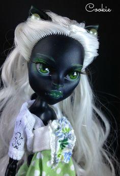OOAK Monster High Catty Noir от Cookie