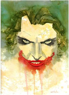 Joker by Brett Weldele