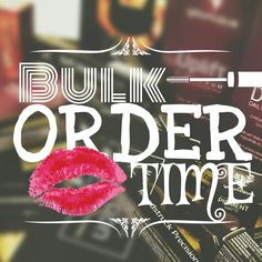 Bulk Order Time YOUnique. Follow me for more awesome younique graphics littlemissbossbabe