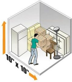 10 X 20 Self Storage Size Everett Storage Depot Storage