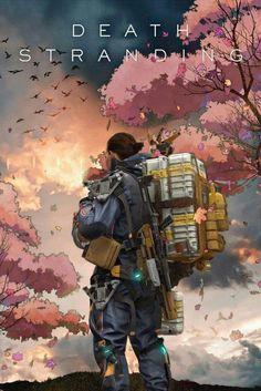 Sam,Death Stranding,Art Source by branconetoj. Dead Stranding, Death Stranding Ps4, V Games, Best Games, Game Character, Character Design, Metal Gear Rising, Cartoon Network, Kojima Productions