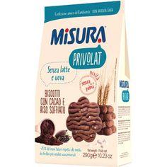 misura - biscotti con cacao e riso soffiato