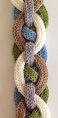 Ravelry: Iquitos Flat i-Cord Scarf by Laura Cunitz