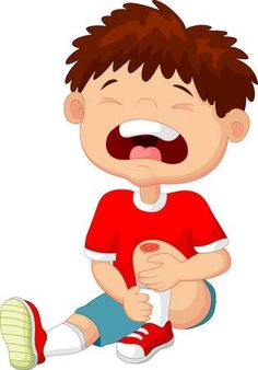 Cartoon boy crying with a scratch on his knee Illustration , Oral Motor Activities, Quiet Time Activities, Science Activities, Yoga For Kids, Art For Kids, Fairy Templates, Emotions Preschool, Boy Crying, Flashcards For Kids