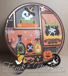 Halloween Quilts, Halloween 2020, Halloween Cards, Holidays Halloween, Happy Halloween, Patchwork Cards, Autumn Cards, Marianne Design, Cricut Ideas