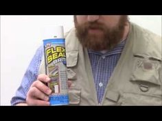 Flex Seal - Sprayable Rubber Seal Review - YouTube