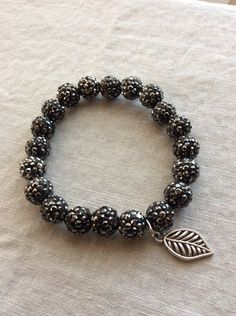Charcoal Shamballa by MyHandcraftedGallery on Etsy https://www.etsy.com/listing/255279573/charcoal-shamballa