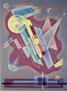 """Emil Bisttram (1895 - 1976)   /   """"Spectre,"""" ca. 1940"""