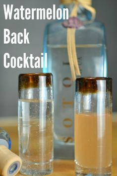 The WatermelonBack Like the pickleback and watermelons? This one's for you!