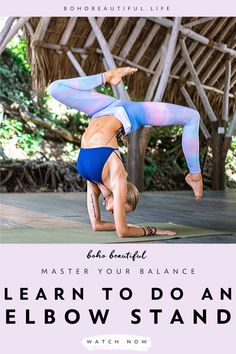 Anyone can learn how to head stand and elbow stand in a few and easy steps. Yoga Inversions, Yoga Sequences, Learn Yoga, How To Do Yoga, Free Yoga Classes, Yoga Master, Yoga Movement, Yoga Poses For Beginners, Advanced Yoga Poses