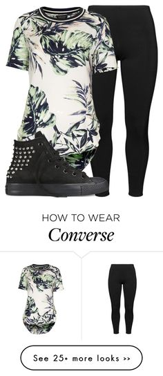 """""""Untitled #649"""" by shamika-domo on Polyvore featuring Boris, Topshop and Converse"""