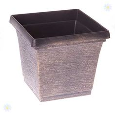 huge Pots and Planters Set of 3 x 20cm Metallic Look square Planters Check more at http://www.gardenorchid.co.uk/product/pots-and-planters-set-of-3-x-20cm-metallic-look-square-planters/