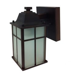 Whitfield Lighting Jordan H Black Medium Base Outdoor Wall Light at Lowe's. Mission meets zen in this transitional 1 light outdoor wall sconce. Featuring a black finish and frosted white glass panels, this classic craftsman Outdoor Wall Mounted Lighting, Black Outdoor Wall Lights, Outdoor Wall Lantern, Outdoor Wall Sconce, Wall Sconce Lighting, Outdoor Walls, Outdoor Lighting, Wall Sconces, Led Exterior Lighting