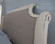23 Best Painted Sleigh Beds images | Little cottages ...