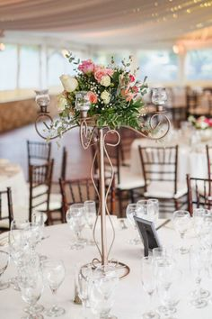 Classic Navy & Pink Los Willows Wedding|Photographer:  Leif Brandt Photography