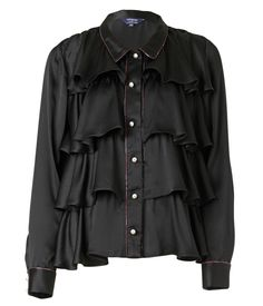 SUPERSWEET x moumi Frilly Shirt