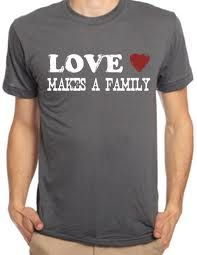 Love makes a family....not DNA