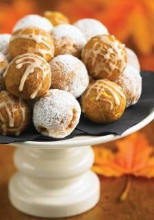 Pumpkin Doughnuts (Babycakes Cake Pop Maker) | www.robertrose.ca  ***I am a SUCKER for pumpkin!***