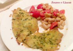FILETTI di PLATESSA alle ERBE, ricetta appetitosa