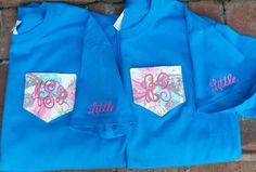 Check out this item in my Etsy shop https://www.etsy.com/listing/252439442/monogram-sorority-pocket-tee-with