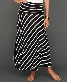 INC International Concepts Petite Skirt, Convertible Striped Maxi - Petite Skirts - Women - Macy's. Perfect for summer in California