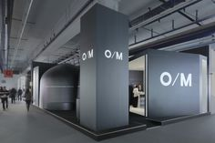O/M stand at LightBuilding 2016 Frankfurt  Germany