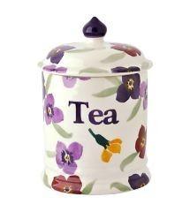 Emma Bridgewater Emma Bridgewater Wallflower Tea Storage Jar