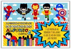 Mil y un papeles: Bienvenidos Superhéroes!